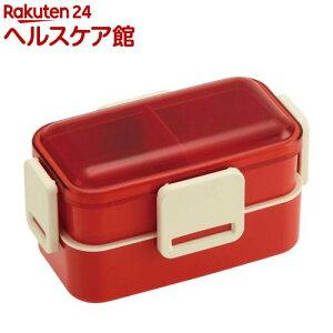 抗菌2段ふわっと弁当箱 レトロフレンチ オレンジ OR PFLW4AG(1個)