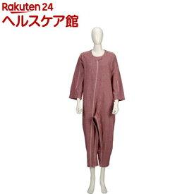 ソフトケア ねまき 厚手 赤 M(1枚入)【ソフトケア(介護用品)】