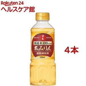 日の出 国産 米使用本みりん(400ml*4コセット)【日の出】