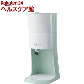 電動ふわふわとろ雪かき氷器 グリーン(1台)【ドウシシャ】