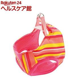 ペティオ アルファッション ストライプベストハーネス SS ピンク(1コ入)【アルファッション(ARFashion)】