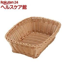 カルティエラタン 洗えるバスケット レクタングル M ナチュラル(1コ入)【カルティエラタン(QuaritierLatin)】