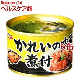 キョクヨー かれいの中骨煮付(140g*6コセット)[缶詰]