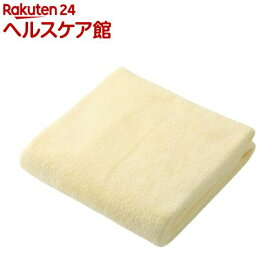 カラリ マイクロファイバー ヘアドライタオル イエロー(1枚入)【カラリ(carari)】