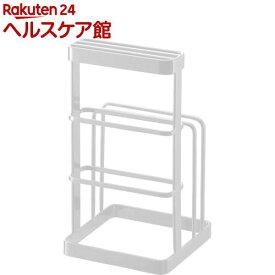 カッティングボード&ナイフスタンド タワー ホワイト(1コ入)【タワー(日用品)】