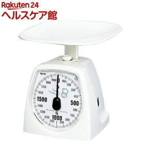 タニタ アナログクッキングスケール タニハンド 2kg ホワイト 1437-NWH-2kg(1台)【タニタ(TANITA)】