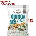 イートリアル キヌアチップス サワークリーム&チャイブ(30g*2袋セット)