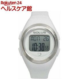 ソーラス 心拍時計(ハートレートモニター) Leisure 800 ホワイト(ユニセックス) 01-800-202(1コ入)【SOLUS(ソーラス)】