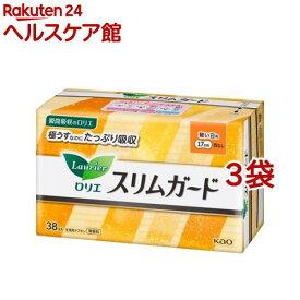 ロリエ スリムガード 軽い日用(38コ入*3コセット)【ロリエ】[生理用品]