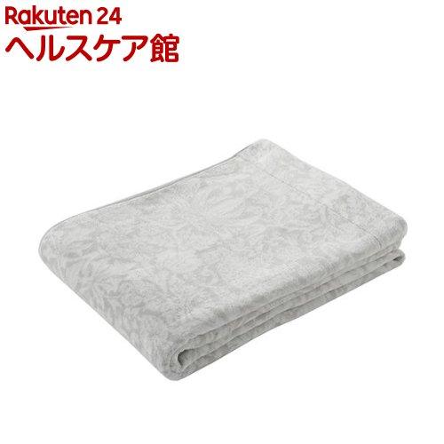 タオルケット シングル サンダーソン ピュアモリス ふっくら グレー RR08100007GR(1枚入)【東京西川】