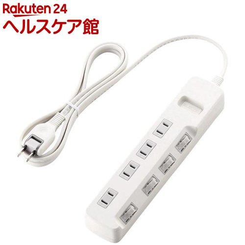 エレコム 省エネタップ T-E5A-2420WH(1コ入)【エレコム(ELECOM)】