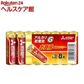 アルカリ乾電池 単3 LR6GD/8S(8コ入)