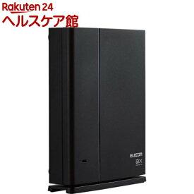エレコム Wi-Fiルーター 無線LAN 中継器 WiFi6 1201+574Mbps WSC-X1800GS-B(1台)【エレコム(ELECOM)】