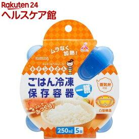 キチントさん ごはん冷凍保存容器 一膳分(5コ入)【slide_e6】【キチントさん】