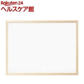 ウッドホワイトボード 620*470mm WBM-E6247(1コ入)【ナカバヤシ】