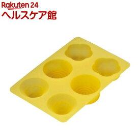 カイハウス セレクト 和菓子のシリコン型(梅・富士山・渦巻き) DL7504(1コ入)【Kai House SELECT】