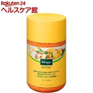 クナイプ バスソルト ユズ&ジンジャーの香り(850g)【クナイプ(KNEIPP)】[入浴剤]