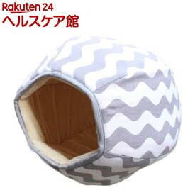 PuChiko キャットボール グレー*ホワイト(1コ入)【PuChiko】
