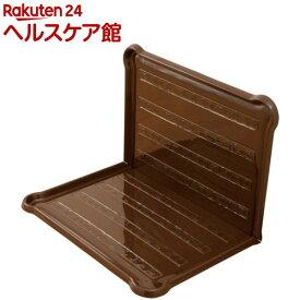 アイリスオーヤマ シーツぴたっとトレー ワイド P-SPTW ブラウン(1コ入)【アイリスオーヤマ】
