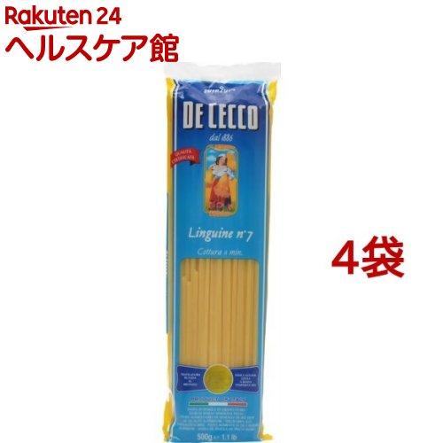 【訳あり】ディチェコ No.7 リングイーネ(500g*4コセット)【ディチェコ(DE CECCO)】