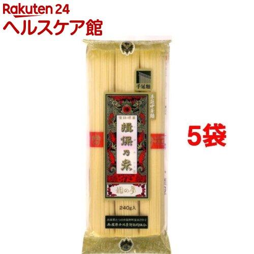 手延中華麺 揖保乃糸 龍の夢(240g*5コセット)