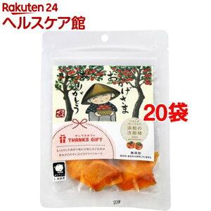 サンクスギフト ドライフルーツ 浜松の次郎柿(20g*20袋セット)