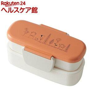 弁当箱 growth スリムタイトランチ オレンジ T-96477(1個)【growth(グロウス)】