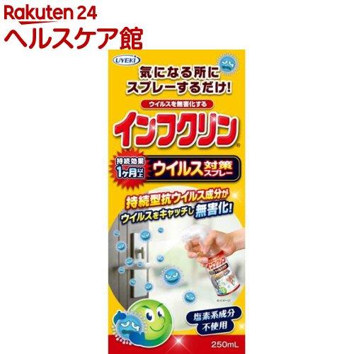 インフクリン ウイルス対策スプレー(250mL)【送料無料】