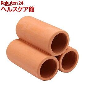癒し水景 素焼きの隠れ家 丸土管 ミニ 3連(1コ入)【癒し水景】