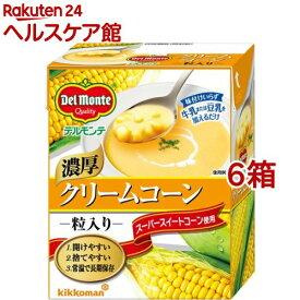デルモンテ クリームコーン 粒入り 紙パック(380g*6箱セット)【デルモンテ】