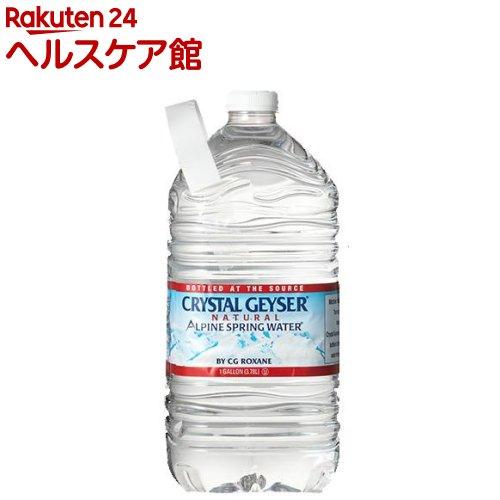 クリスタルガイザー ガロンサイズ(3.78L*6本入)【rank】【クリスタルガイザー(Crystal Geyser)】[ミネラルウォーター 大容量 水]【送料無料】