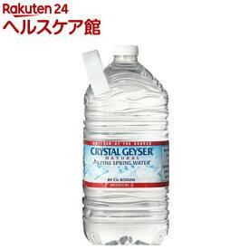 クリスタルガイザー ガロンサイズ(3.78L*6本入)【クリスタルガイザー(Crystal Geyser)】