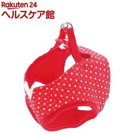 ペティオ アルファッション ハートドットベストハーネス XS レッド(1コ入)【アルファッション(ARFashion)】