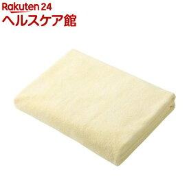 カラリ マイクロファイバー バスタオル イエロー(1枚入)【カラリ(carari)】