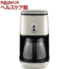 デロンギ ディスティンタコレクション ドリップコーヒーメーカー ピュアホワイト ICMI011J-W(1台)【デロンギ】