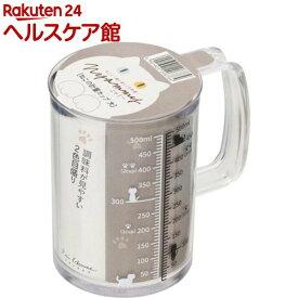 Nyammy ねこの計量カップ500ml DH2728(1コ入)【Nyammy(ニャミー)】
