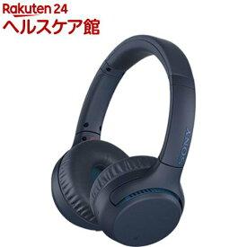 ソニー ワイヤレスステレオヘッドセット WH-XB700 LC ブルー(1個入)【SONY(ソニー)】