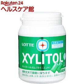 ロッテ キシリトール ライムミント メガボトル(290g)【キシリトール(XYLITOL)】