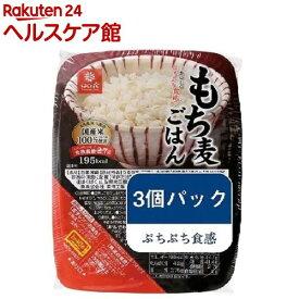 はくばく もち麦ごはん 無菌パック(150g*3個入)【はくばく】