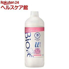 ビオレu ザ ボディ The Body 泡タイプ ブリリアントブーケの香り つめかえ用(450ml)【ビオレU(ビオレユー)】