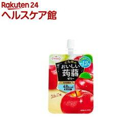 おいしい蒟蒻ゼリー りんご味(150g*6コ入)【たらみ】