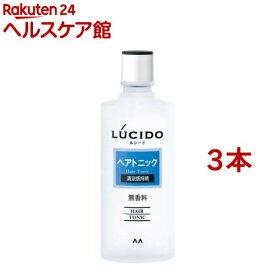 ルシード ヘアトニック(200ml*3本セット)【ルシード(LUCIDO)】