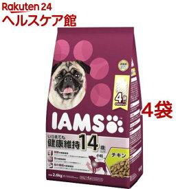 アイムス 14歳以上用 いつまでも健康維持 チキン 小粒(2.6kg*4コセット)【アイムス】[ドッグフード]