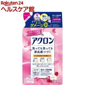 アクロン おしゃれ着洗剤 フローラルブーケの香り 詰め替え(400ml)【more30】【アクロン】