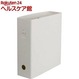 くらしのファイル クラフト A5 ホワイト CLAF-A53W(1個)