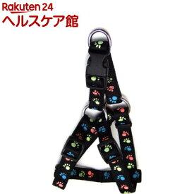 蓄光フットハーネス #15 ブラック(1本入)【蓄光フットシリーズ】