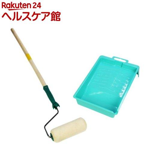 アサヒペン PC万能用ローラーバケセット RSE-7 180mm(1セット)【アサヒペン】