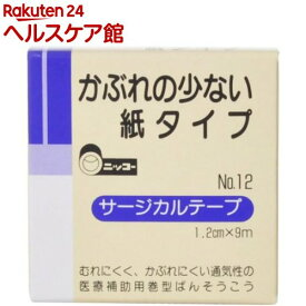 ニッコーサージカルテープ NO.12(1コ入)【ニッコー(日廣)】