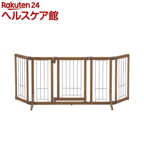 リッチェル ペット用木製おくだけドア付きゲート Mサイズ(1台)【送料無料】