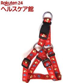 蓄光フットハーネス #20 レッド(1本入)【蓄光フットシリーズ】